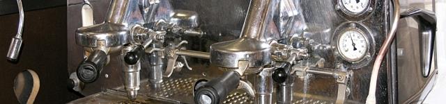 Unsere Espresso-Maschine